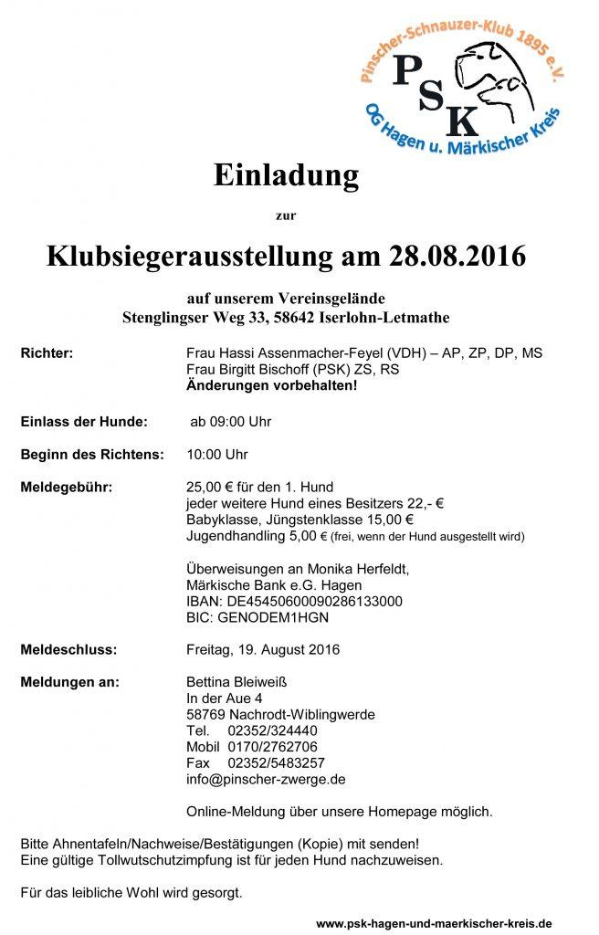 Pinscher-Schnauzer-Klub